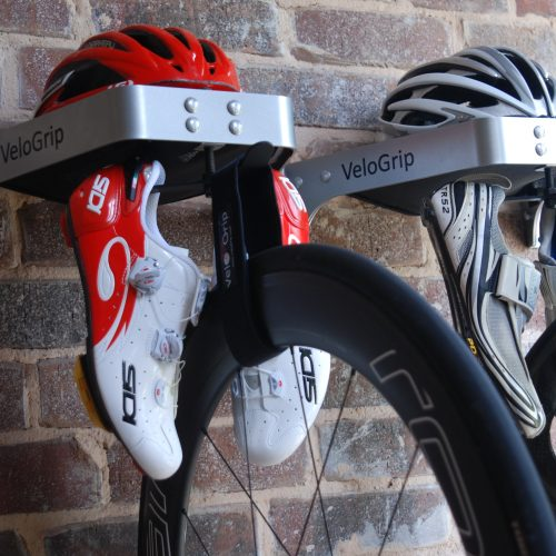 compact side by side bike storage