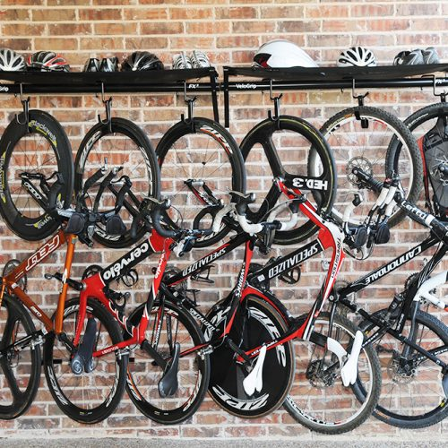 VeloGrip vertical commercial storage bike rack