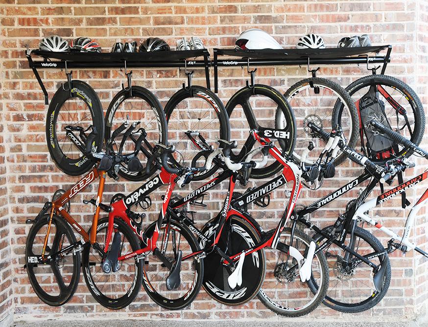 VeloGrip vertical commercial storage bike rack