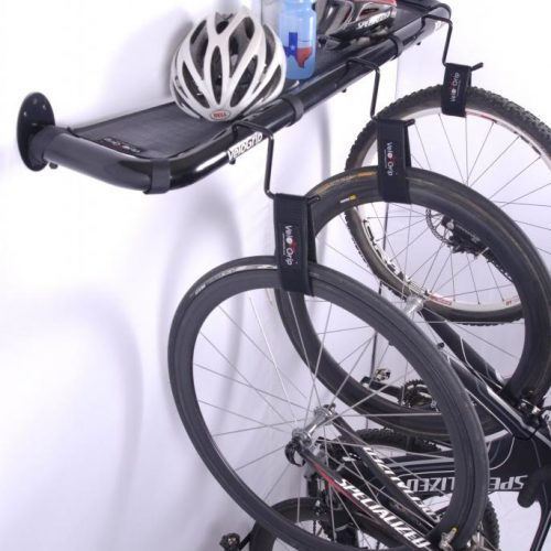 VeloGrip Loft vertical bike storage black