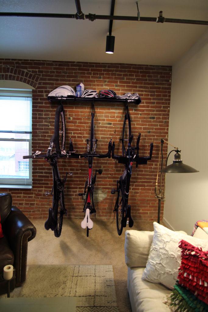 VeloGrip Loft bike rack is home decor