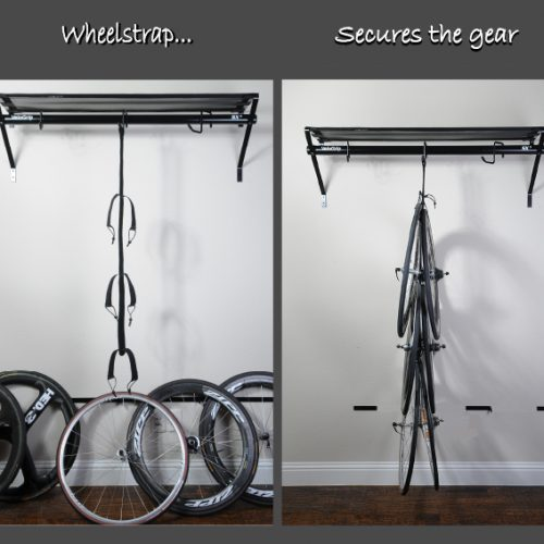 VeloGrip wheelstrap wheel storage