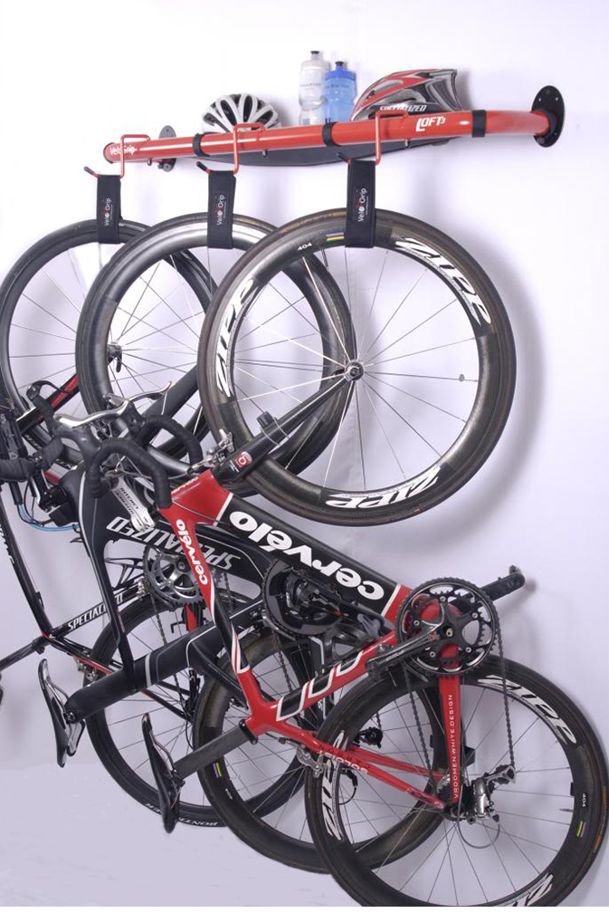 Vertical Bike Storage >> VeloGrip Bike Rack Photos and Bike Stand Photos